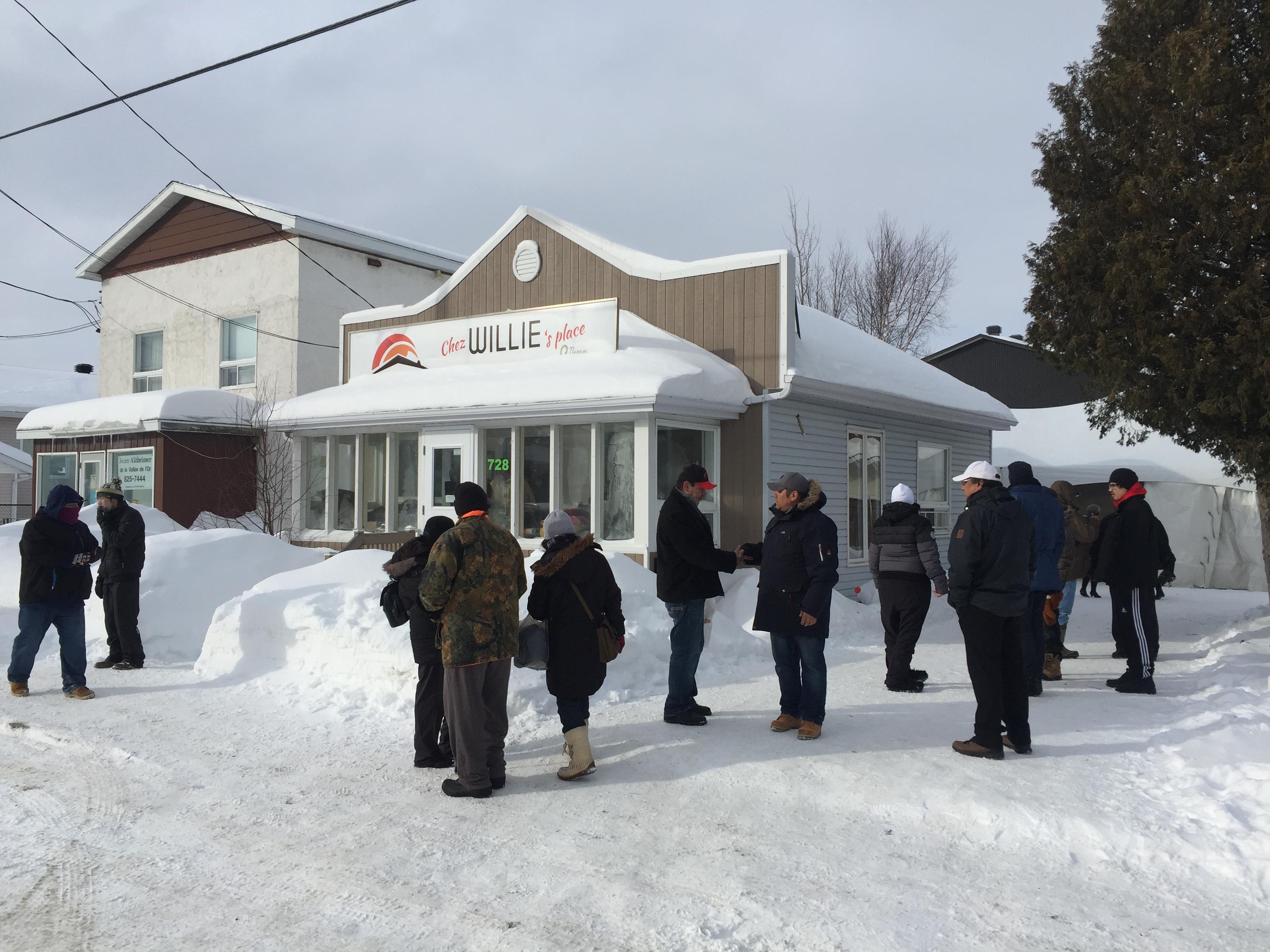 Chez Willie's Place, Lieu de répit de jour pour itinérants, Val d'Or