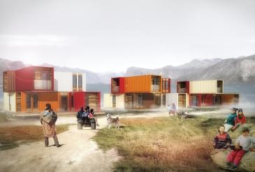 Habitations, Pangnirtung, Nunavut