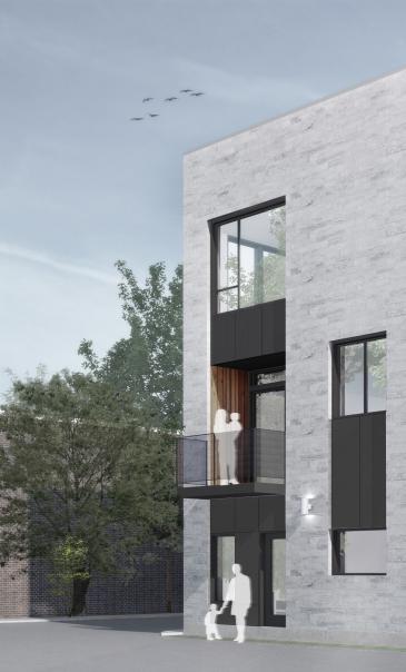 Le Cinq, Maisons de ville, Montréal