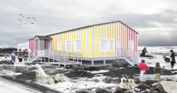 Centre communautaire et Clinique de pédiatrie sociale, Kuujjuaq, Qc