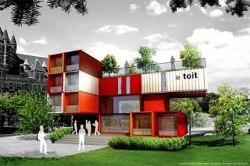 Le Toit, habitations pour itinérants, Montréal